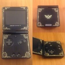 New! Custom Nintendo Gameboy Advance SP-Brighter Screen!-AGS-101-Zelda Decals