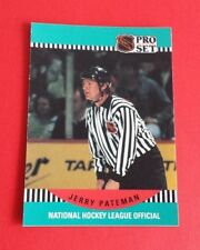 1990/91 Pro Set Hockey Jerry Pateman Card #696***NHL Official***
