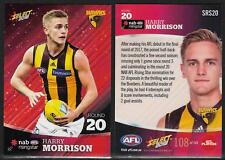SELECT 2018 NAB RISING STAR CARD HARRY MORRISON Rd 20 HAWTHORN SRS20 #108 of 143