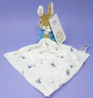 NEW Marks Spencer blue Peter Rabbit bunny baby toy comforter soother blankie