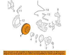 BMW OEM 04-10 X3 Front Brake-Disc Rotor 34113400151