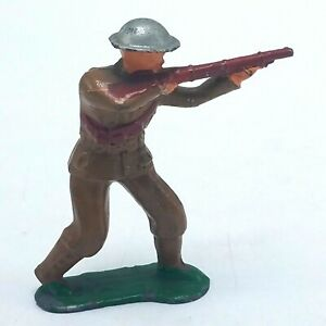 Vintage Barclay Lead Soldier - #747 Sharpshooter - Made in USA VGC