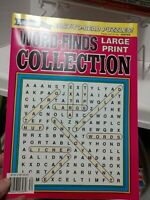 Vintage Crossword Puzzles and Word Searches Books Lot - 16 Books - Free Ship