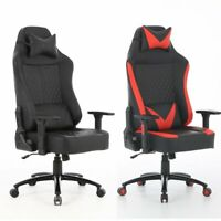 Racing Style Ergonomic High Back Computer Chair with Headrest and Lumbar Support