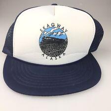 Skagway Alaska Railroad Yukon Route Trucker Hat Cap
