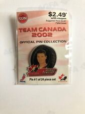 Limited Edition Team Canada Hockey Pin - Mario Lemieux - From 2002 Olympics Rare