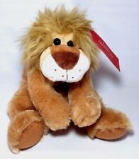 "MACY'S HOLIDAY LANE Soft Lion 9"" Stuffed Animal Plush Toy Cute"