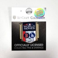 2018 MLB World Series Dueling Boston Red Sox Los Angeles Dodgers Pin WINCRAFT
