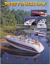 1999 Stingray Power Boat Dealer Sales Brochure Catalog - nice   /l8