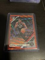 2019-20 Donruss Optic PASCAL SIAKAM China Tmall Red Wave SP card Toronto Raptors