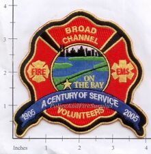 New York City NY Fire Dept Broad Channel Volunteer Fire Dept Patch v7