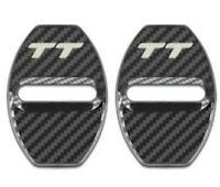 Audi TT Mk2 8J/Mk3 8S  Carbon Fibre effect Door Lock Protection Cover x 2