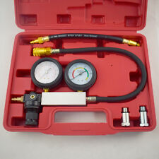 Cylinder Leak-Down Tester Leak Detector Engine Compression Tester Gauges Superb