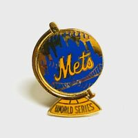 VINTAGE 1973 MLB NEW YORK METS WORLD SERIES BASEBALL PRESS PIN by BALFOUR