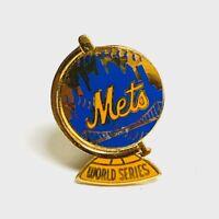 VINTAGE 1970 MLB NEW YORK METS WORLD SERIES BASEBALL PRESS PIN by BALFOUR