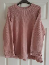 TU Ladies Jumper with lace edge size 20