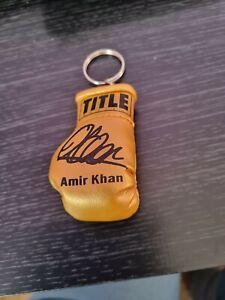 Amir Khan Boxing Glove Keyring ~ Brand New & Unique