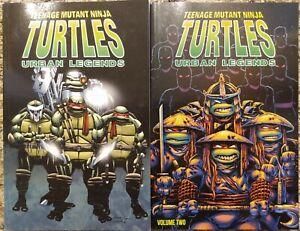 Teenage Mutant Ninja Turtles: Urban Legends Vol 1 and 2 COMPLETE SERIES