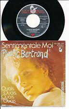 "PLASTIC BERTRAND 45 TOURS 7"" GERMANY SENTIMENTAL MOI"