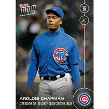2016 Topps Now  #288 Aroldis Chapman Chicago Cubs  FREE Shipping  Print Run: 660