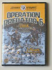 JOHNNY STEWART OPERATION PREDATOR 6 HUNTING DVD 2 HOURS 43 KILLS GREAT GIFT