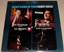 BUDDY GRECO BUDDY'S BACK IN TOWN ALBUM 1963 EPIC RECORDS BN-593 COLLECTOR'S