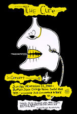 The Cure - Buffalo State College - 1984 - Concert Poster