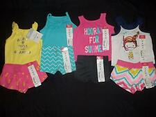 NWT Baby Girl NEWBORN Summer Tank Top Bodysuit Short Clothes Outfits Lot ALL NEW
