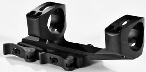 """Warne QDXSKEL1TW 1"""" Tube Quick Detach Rifle Scope Mount Extended Cantilever"""