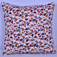 "16"" Cotton Floral Fashion Throw Pillow Case Sofa Decor Cushion Cover Bohemian"