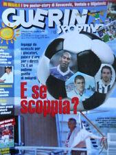 Guerin Sportivo n°26 1999 con maxi Poster KOVACEVIC VENTOLA MIJATOVIC [GS40]