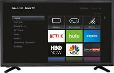 "Open-Box Excellent: Sharp - 32"" Class - Led - 720p - Smart - Hdtv Roku Tv"