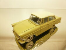 DINKY TOYS 554 OPEL REKORD - YELLOW 1:43 - GOOD CONDITION