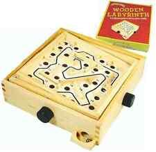 Labirinto Puzzle BOARD GIOCO BAMBINI EDUCATIVI LABIRINTO IN LEGNO KIDS BALL RACE
