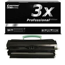 3x PRO Toner für Lexmark X-203-N X-204-N