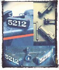 SIDE NUMBER BOARDS - Model Train Parts HO - Cal-Scale #190-611