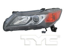 TYC NSF Left Side Halogen Headlight Lamp for Acura ILX 2013-2015