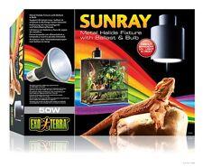 SunRay Metal Halide Reptile Terrarium Light Fixture W/ Ballast & Bulb 50W  50 W