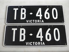FORD THUNDERBIRD PERSONAL NUMBER PLATES (TB 460)
