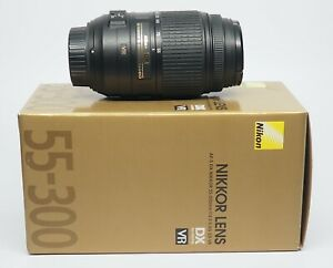 Nikon AF-S DX NIKKOR 55-300mm f/4.5-5.6G ED VR Zoom Lens AF
