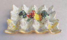Bandeja de huevo de cerámica/Soporte (tiene 12 huevos)