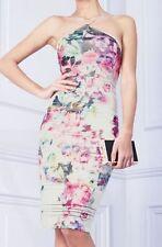 Lipsy Knee Length Floral Regular Size Dresses for Women