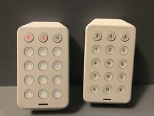 2 USED wireless XHK1-UE Keypad for Xfinity Home Security System -NO BATTERIES