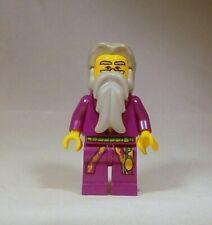 LEGO Dumbledore Minifigure Harry Potter 4707 4709 4729 Yellow Head Purple