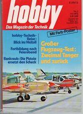 HOBBY -  1972 / 1 / NSU RO 80, Verbandkästen, SKIBOB, SPORTFLIEGEREI, + POSTER