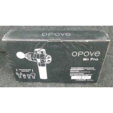 Opove M3 Pro Precussion Massage Gun 3 Speed Silver, Worn Box