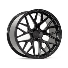 "20"" ROHANA RFX10 BLACK FORGED CONCAVE WHEELS RIMS FITS LAMBORGHINI GALLARDO"
