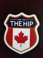 The Tragically Hip Crest Printed Vinyl Decal Sticker Gord Downie 4 inches