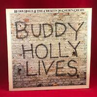 BUDDY HOLLY & THE CRICKETS 20 Golden Greats 1978 UK VINYL LP EXCELLENT Best of C