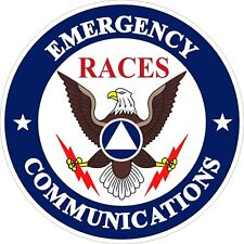 Emergency Communications RACES Decal / Sticker